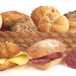 Various bread rolls — Stock Photo