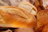 Bread an buns — Stock Photo
