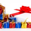 Gift boxes — Stock Photo #4466695