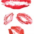 Collection of lips — Stock Photo