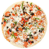Whole pizza — Stock Photo