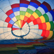 Inside hot air baloon — Stock Photo #5137669