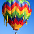 Hot air balloon - Stok fotoğraf
