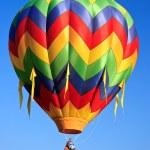 hot luft ballong — Stockfoto