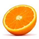 Half orange — Stock Photo #5351031