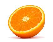Half orange — Stock Photo