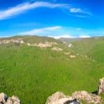 Постер, плакат: Spring Crimea Mountain country panorama