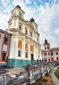 Former Jesuit College in Kremenets — Stock Photo