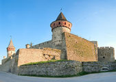 Castillo de Kamianets-Podilskyi (Ucrania) — Foto de Stock
