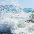 Sea surf wave — Stock Photo