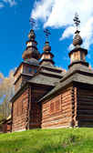 Land houten kerk — Stockfoto