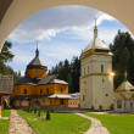 Christian monastery — Stock Photo #4544233