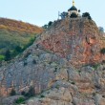 Church on the edge of rock (Crimea, Ukraine) — Stock Photo #4545864