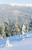 Zimní horské krajiny — Stock fotografie
