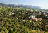 Simeiz town (Crimea, Ukraine) — Стоковое фото