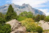 Spring mountain landscape — Foto Stock