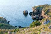 Laguny lato skalistego morskiego — Zdjęcie stockowe