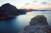 Daybreak landscape — Stock Photo