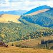 Autumn in mountain — Stock Photo