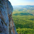 Stock Photo: Spring CrimeMountain rocky view