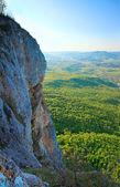 Spring Crimea Mountain rocky view — Stock Photo