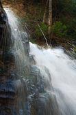 山の滝の上の部分 — ストック写真