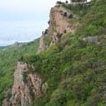 Church on the edge of rock (Crimea, Ukraine) — Stock Photo #4636447