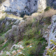 Spring Great Crimean Canyon landscape (Ukraine). - Stock Photo
