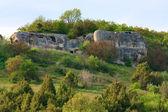 Jarní krajina Krymu (Ukrajina). — Stock fotografie