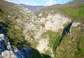 Spring Great Crimean Canyon landscape (Ukraine). — Foto de Stock