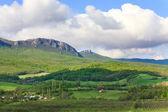 Spring mountains landscape (Crimea, Ukraine) — Stock Photo