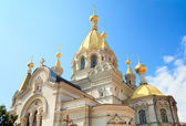 Pokrovskij Cathedral in Sevastopol (Crimea, Ukraine). — Stock Photo
