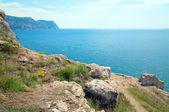 Yaz sahil görünümü — Stok fotoğraf