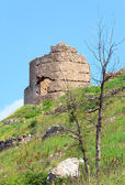 Balaclava Genoese fortress view (Crimea, Ukraine) — Stock Photo