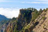 Cloudy mountain landscape — Stock Photo