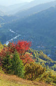 Autumn mountain view — Stock Photo