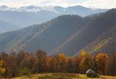 Autumn mountain view — Stock Photo
