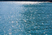Water and sun sparkles — Stock Photo