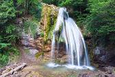 Lato góry wodospad — Zdjęcie stockowe