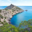 "Coastline of ""Novyj Svit"" reserve (Crimea, Ukraine) — Stock Photo"