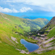 Stock Photo: Alpine lake Brebeneckul on summer mountains