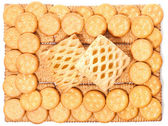 Biscuits (background) — Foto de Stock