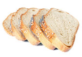 Slices of wheat bread — Stock Photo