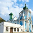 Russian Orthodox church in Kremenets town - Stock Photo