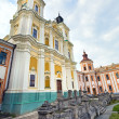 Former Jesuit College in Kremenets town (Ukraine). — Stock Photo
