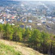 Kremenets town (Ternopil Oblast, Ukraine) - Stock Photo