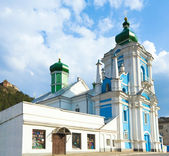 Russian Orthodox church in Kremenets town — Stock Photo