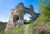 Ancient fortress ruins — Stock Photo