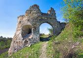 Ancient fortress ruins — Stock Photo