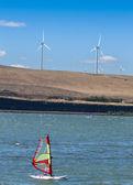 Rüzgar sörfü — Stok fotoğraf